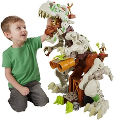 Fisher-Price Imaginext Ultra T-Rex интерактивный динозавр