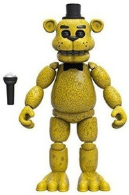 Фредди золотой (13 см) - Funko Five Nights at Freddy's Articulated Golden Freddy Action Figure